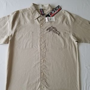 COPY - NWT-Willie Esco Natural Men's Button Up Sh…